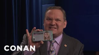 Andy Feels Betrayed By Ellen Pompeo  - CONAN on TBS