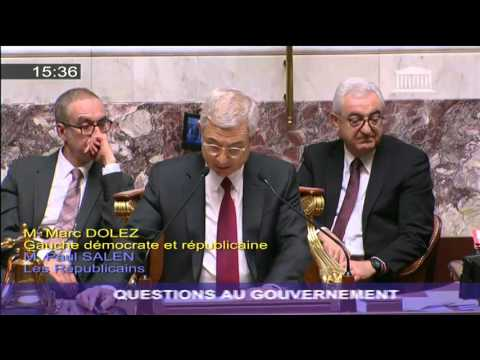 Conséquences du Projet de loi Travail pour les jeunes : question d'actualité de Marc Dolez