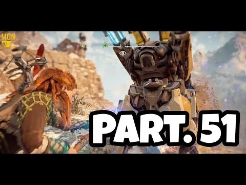 HORIZON ZERO DAWN Walkthrough Gameplay Part 51 - The Road To The Grave Hoard (Let's Play)