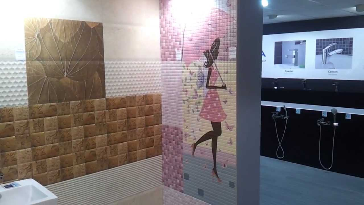 Bathroom Tiles Bangalore cera tiles stall at et acetech january 2013 bangalore - youtube