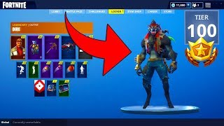 So I Bought 100 Tier Season 6 Battle Pass.. Was It Worth It? *PETS AND SKINS* (Fortnite)