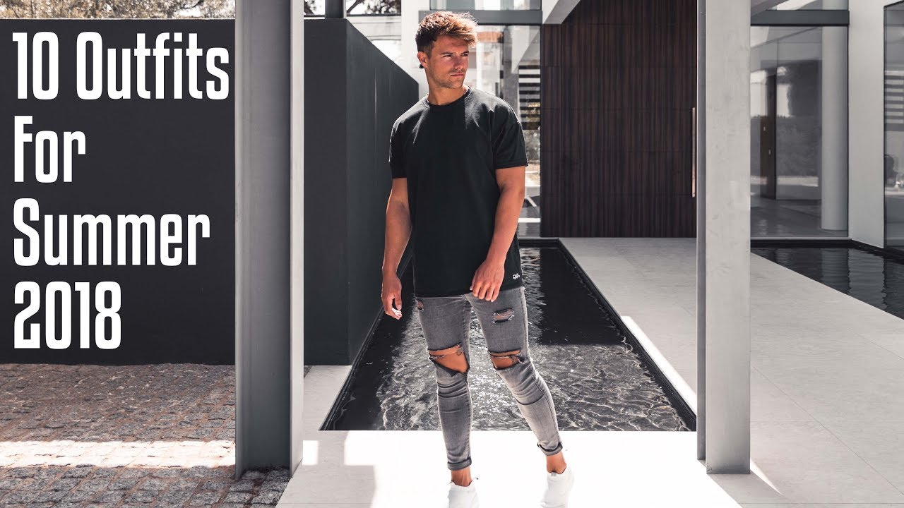 [VIDEO] - 10 Summer Outfits for Men 2018 - What's In My Wardrobe 2