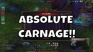 Absolute Carnage!! - Frost Death knight PvP - WoW BFA 8.2.5