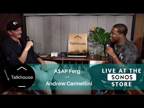 Live at the Sonos Store: A$AP Ferg with Andrew Carmellini (Talkhouse x Food Republic)
