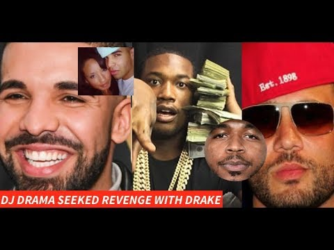 Drake SMASHED Dj Drama Ex Wife So He Leaked Reference Tracks to Meek Mill SEEKING REVENGE