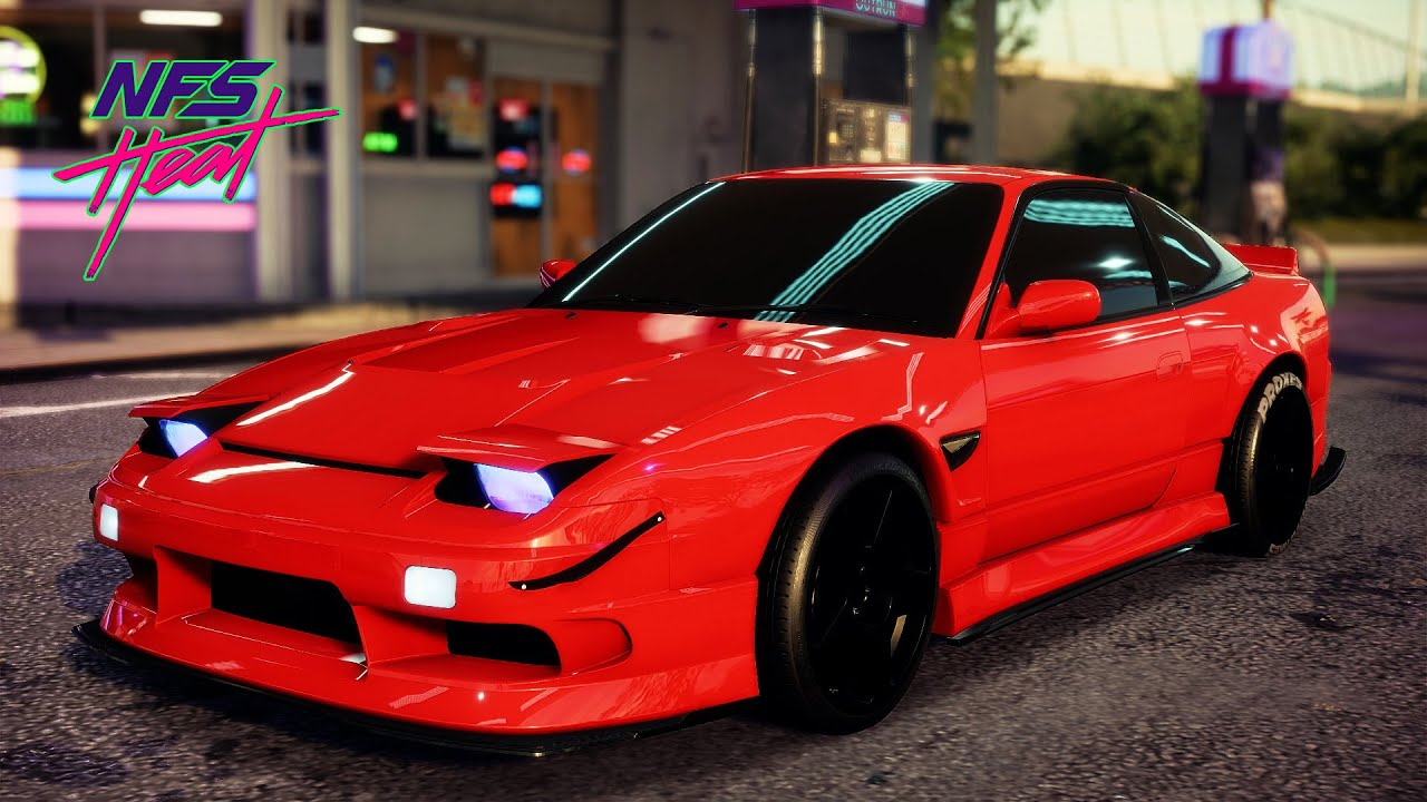 NISSAN 180SX TYPE X Review & Best Customization ! Need For Speed HEAT - NFS NEW!