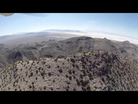 Aerial Video Of Historic Mining Sites In Utah