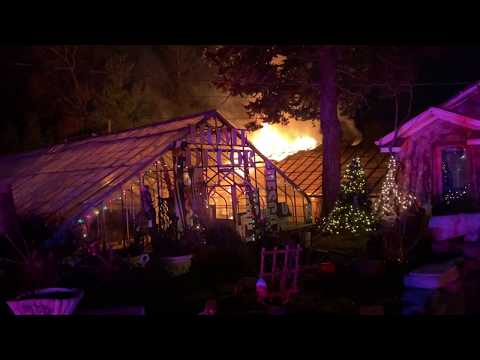 Third Fire In 38 Months Ravages Garden Center Greenhouse In Paramus (VIDEO)
