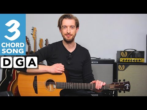 Get Back The Beatles Guitar Lesson Tutorial | 10 songs with 3 chords #5