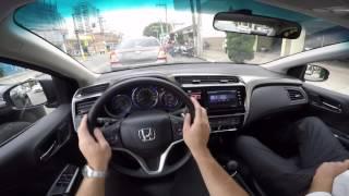 Honda City 1.5 CVT Test Drive Onboard POV