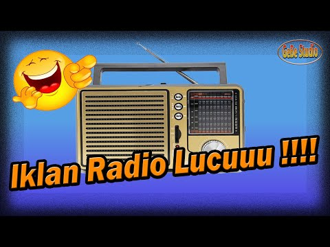 RAPAT UMUM GOKIL ABIS  IKLAN RADIO LUCU