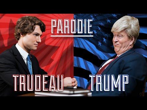 JUSTIN TRUDEAU vs DONALD TRUMP