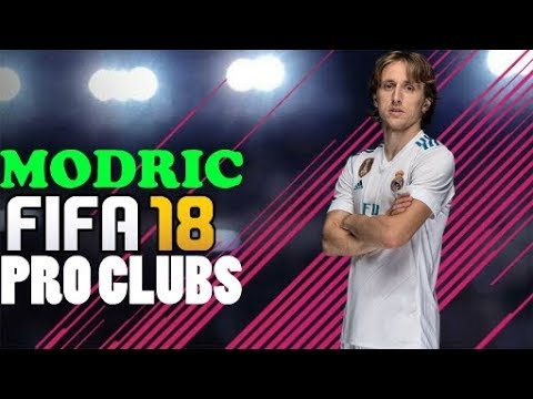 FIFA 18 MODRIC GAME FACE PRO CLUBS
