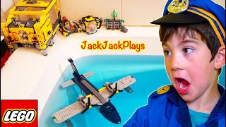 Do these Lego Toys Float? Pretend Play Unboxing Skit