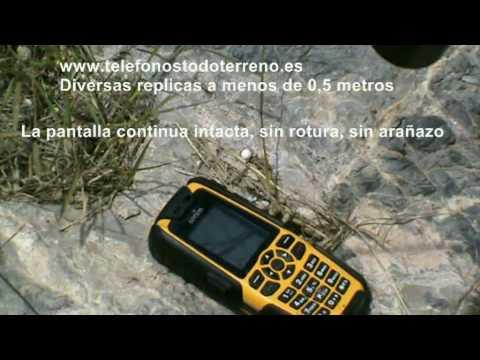 Sonim XP3.2 Quest Pro, teléfono todo terreno tiroteado airsoft