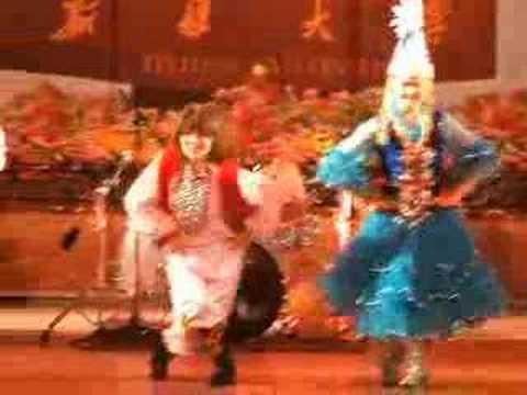 Kazak Dancing at Xinjiang University