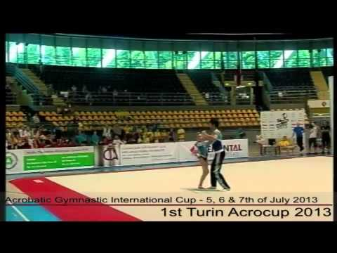 1st Turin Acrocup - Acrobatic Gymnastic International Cup - Day 1 - part 3