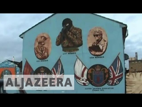 Northern Ireland's Troubles - Walls of Shame