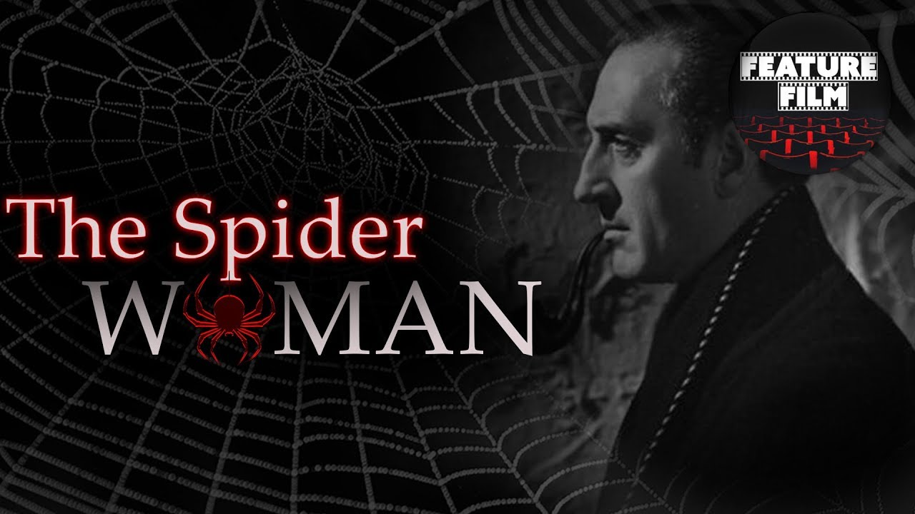 SHERLOCK HOLMES | THE SPIDER WOMAN (1943) | full movie | The best classic movies | classic cinema