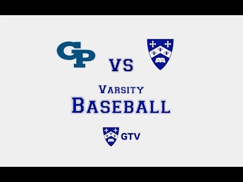 Gilman Varsity Baseball vs. Georgetown Prep