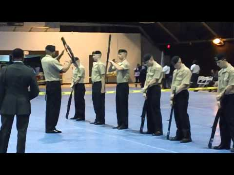 Patrick Henry High School NJROTC Six Man Exhibition
