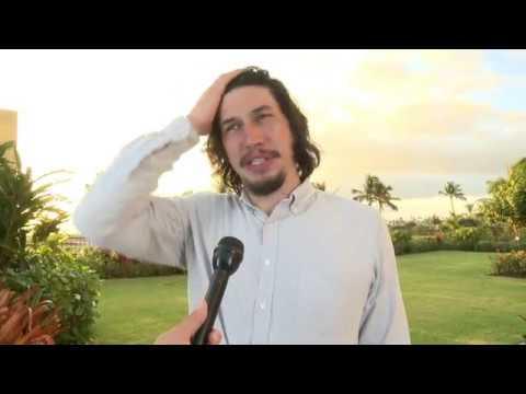 Adam Driver interviewed at Maui Film Festival 2015