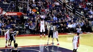Washington Wizards vs San Antonio Spurs. Verizon Center, Washington, DC