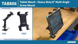 Most Adjustable Ipad Ipad Air Android Tablet Mount | Arkon Tab806