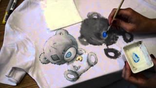 Как нанести рисунок на футболку в домашних условиях