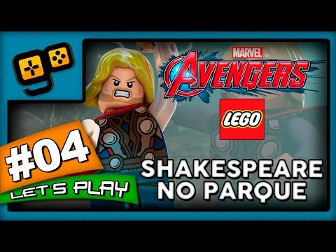 Let's Play: Lego Vingadores - Parte 4 - Shakespeare no Parque