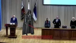 Новый мэр Белгорода Юрий Галдун принял присягу под музыку из «Звездных войн»