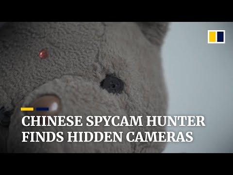 Spycam hunter in
