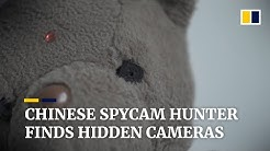 Spycam hunter in China helps people find hidden cameras in their homes