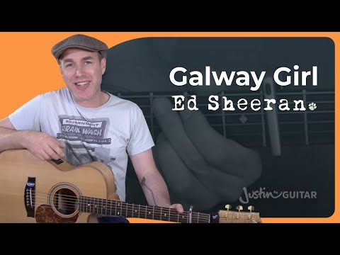 How to play Galway Girl by Ed Sheeran - Guitar Lesson Tutorial Acoustic