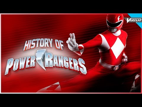 History Of The Power Rangers!