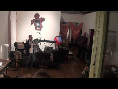 author Bryan C  Parker @ Beat Happening book reading   2015-09-25