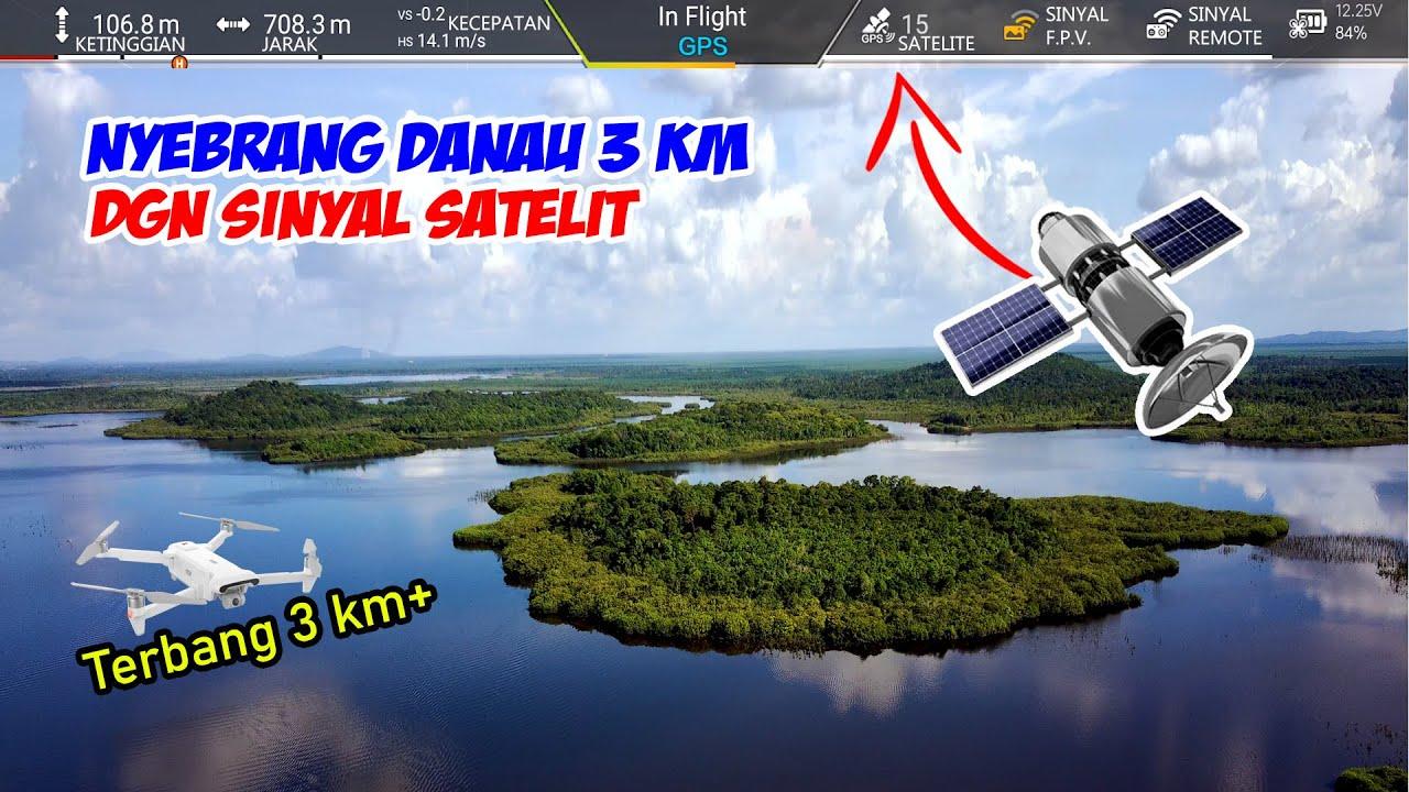 DRONE EXPERIMENT: SINYAL SATELIT DI PEDALAMAN KALIMANTAN (Fimi X8 SE 2020)