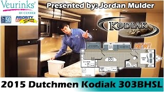 Dutchmen Rv Kodiak Express 303bhsl New Bunk House Travel Trailer 2015   Grand Rapids, Mi