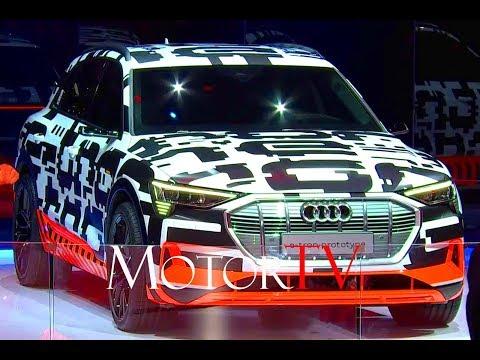 2018 GENEVA MOTOR SHOW : AUDI E-TRON PROTOTYPE & AUDI A6 SEDAN WORLD PREMIERE (ENG)