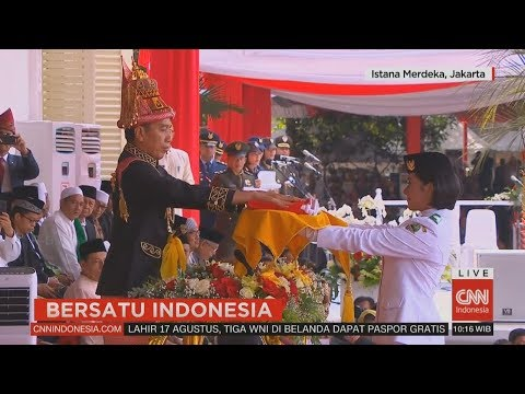 Full - Upacara Peringatan HUT RI Ke-73 #BersatuIndonesia #17an