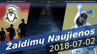 Žaidimų Naujienos - 07022018 - RDR 2 PC, Halo TV, Fortnite Vs PUBG