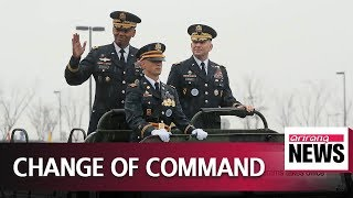 New Commander of U.S. Forces Korea General Robert Abrams takes office