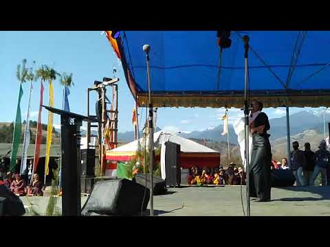 Tenzin Kunsel At Menchukha (Sonam Lossar)