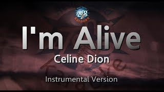 Celine Dion-I'm Alive (MR) (Karaoke Version) [ZZang KARAOKE]