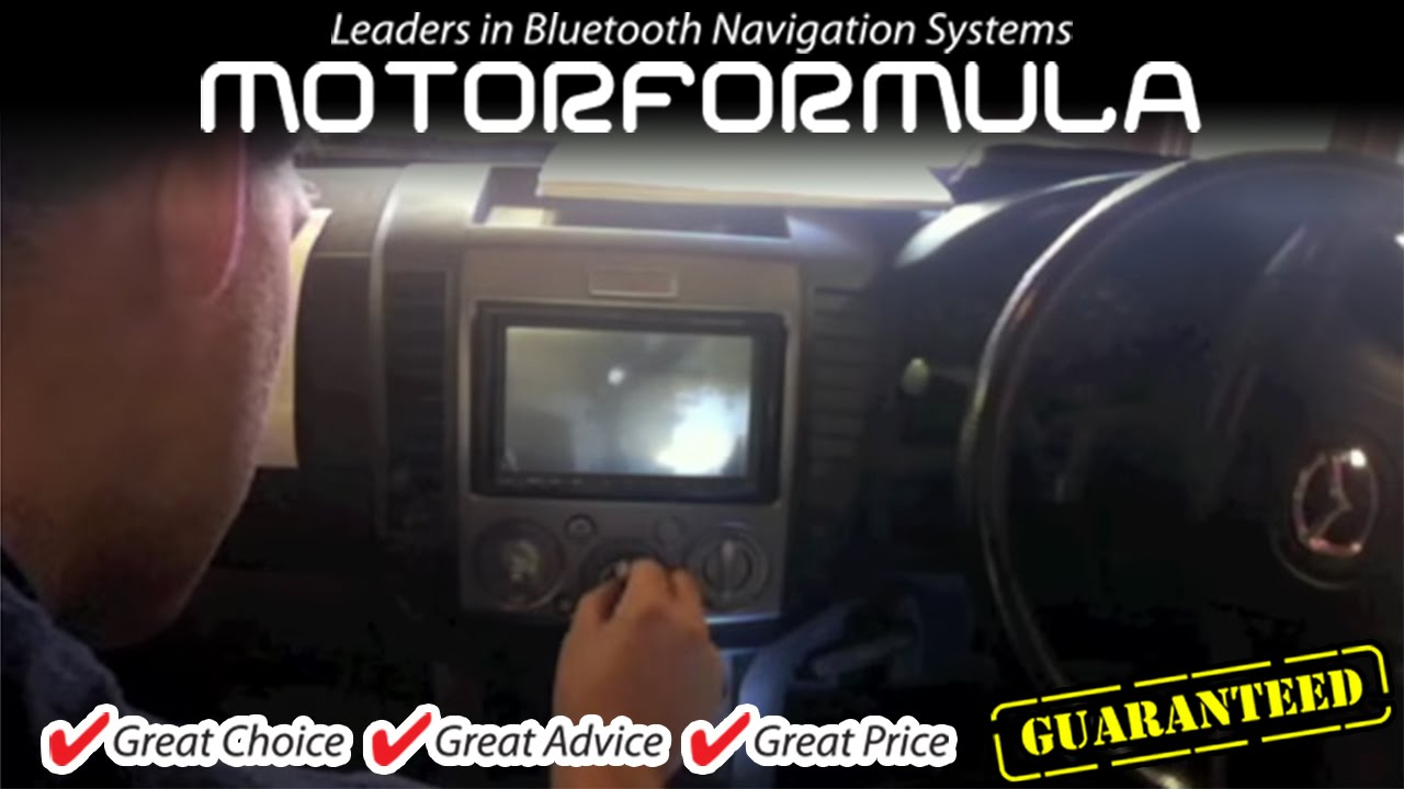 Car Gps Dvd Player Radio Stereo Head Unit Mazda Bt50 Installation Bt 50 Wiring Diagram Guide Ford Ranger