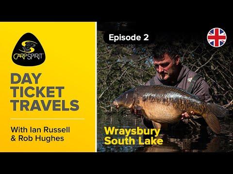 Carp Fishing: Day Ticket Travels 2: Ian Russell & Rob Hughes On Wraysbury