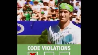 Tennis  Top Players Losing Temper on Court  Out Of Control