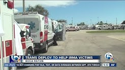 First responders gather in Boca Raton to help Irma victims