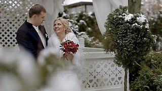 Свадебный клип. Андрей и Тамара. Усадьба Золотой лев. Свадьба зимой.