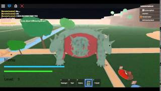 [ROBLOX] TAILED BEAST BOMB!!!